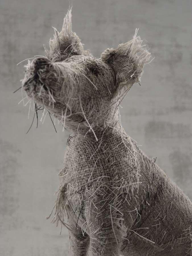 dog scuptures Helen Thompson 10