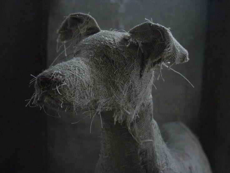 dog scuptures Helen Thompson 2