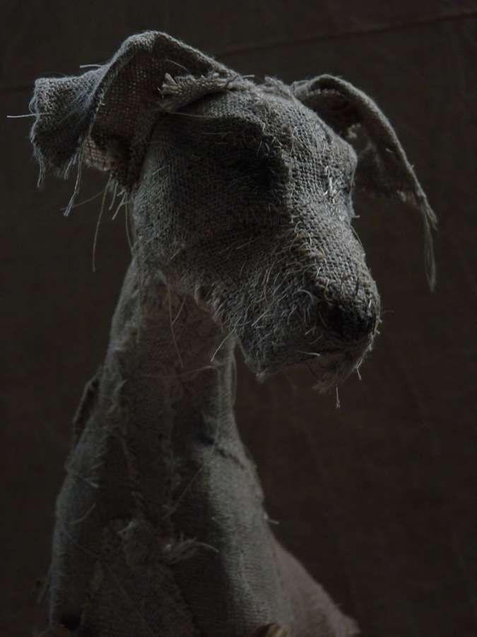 dog scuptures Helen Thompson 5