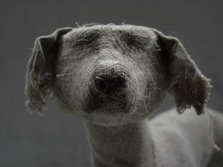 dog scuptures Helen Thompson 9